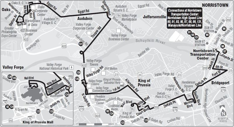 Route Of The Week 99 Septa