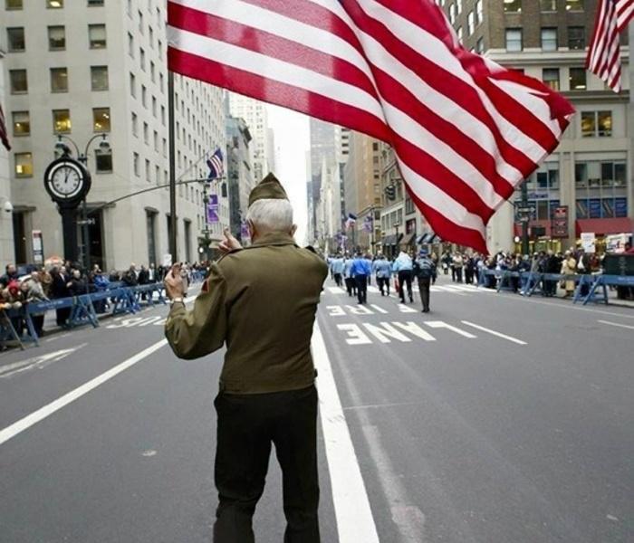 Veteran flag pic