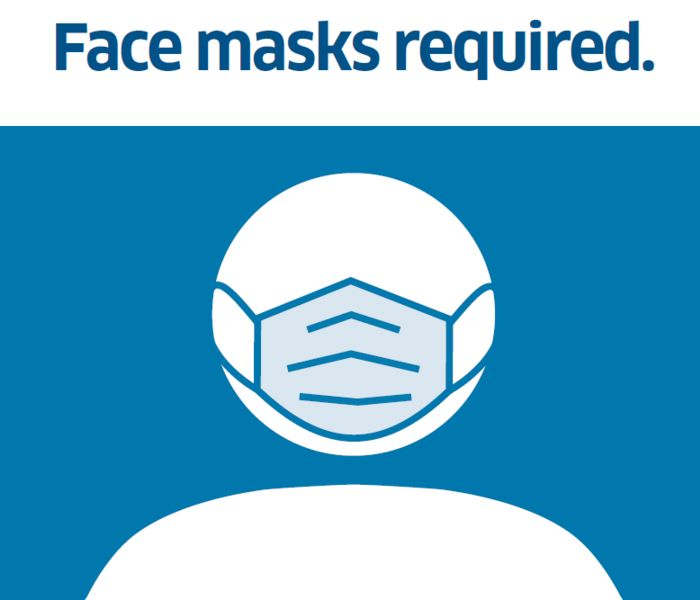 Face masks required blog