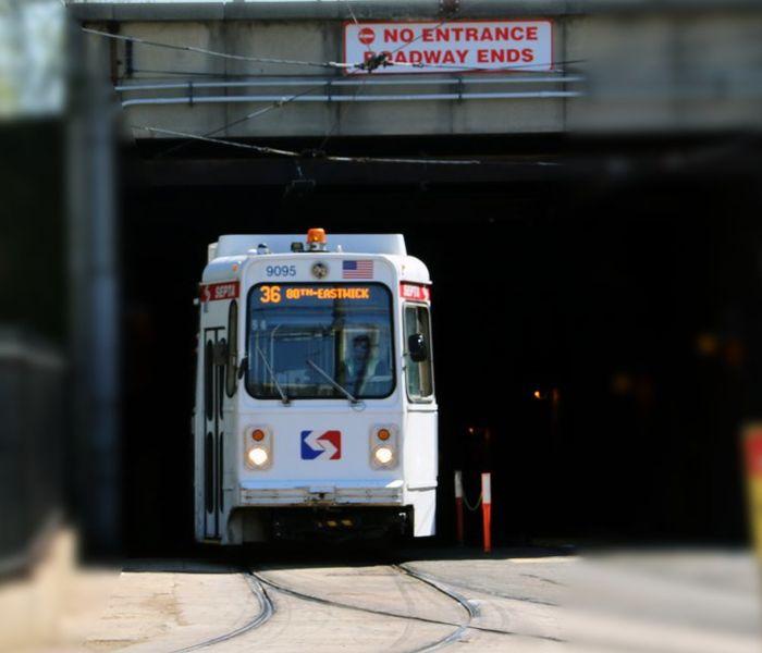 Trolley tunnel 36