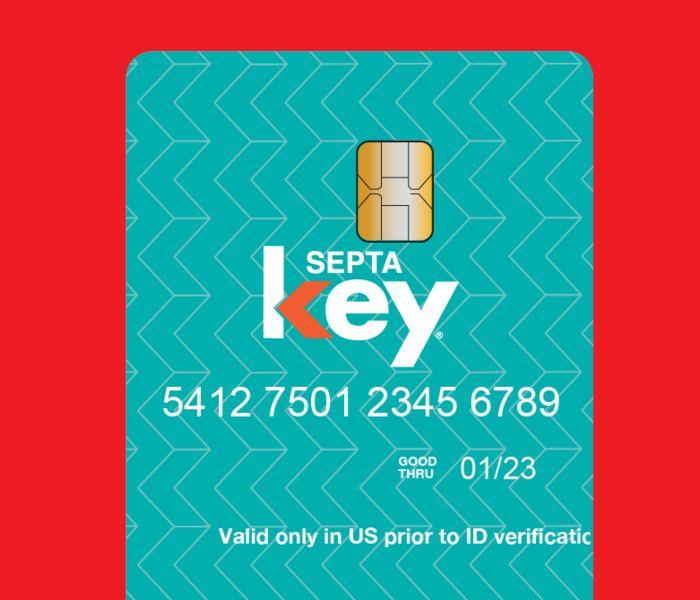 Septa key card red 03