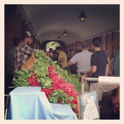 Headhouse farmers market