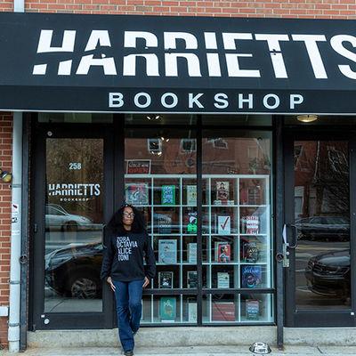 Harriett's bookshop